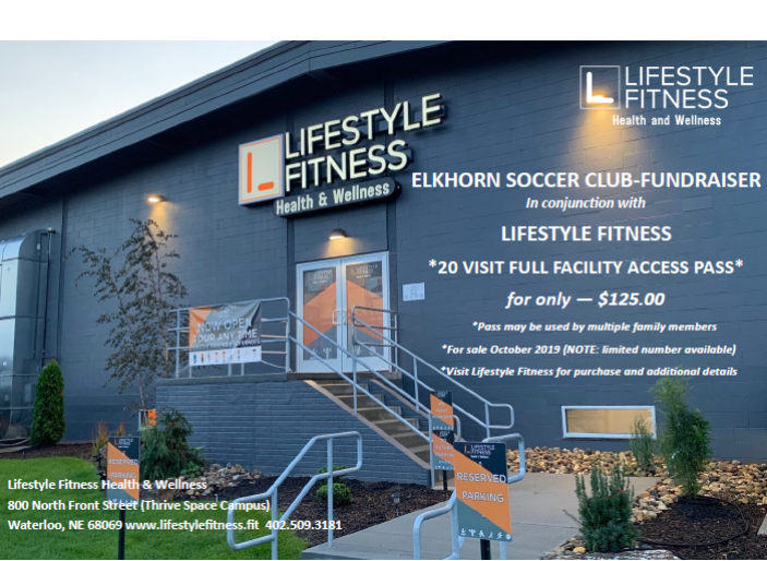 Lifestyle Fitness Punch Cards